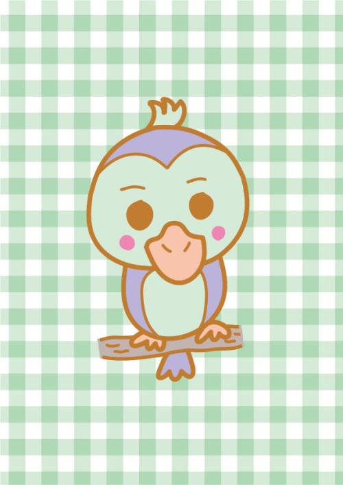 鳥のキャラクター(小鳥)
