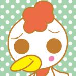 鳥のキャラクター(ニワトリ)
