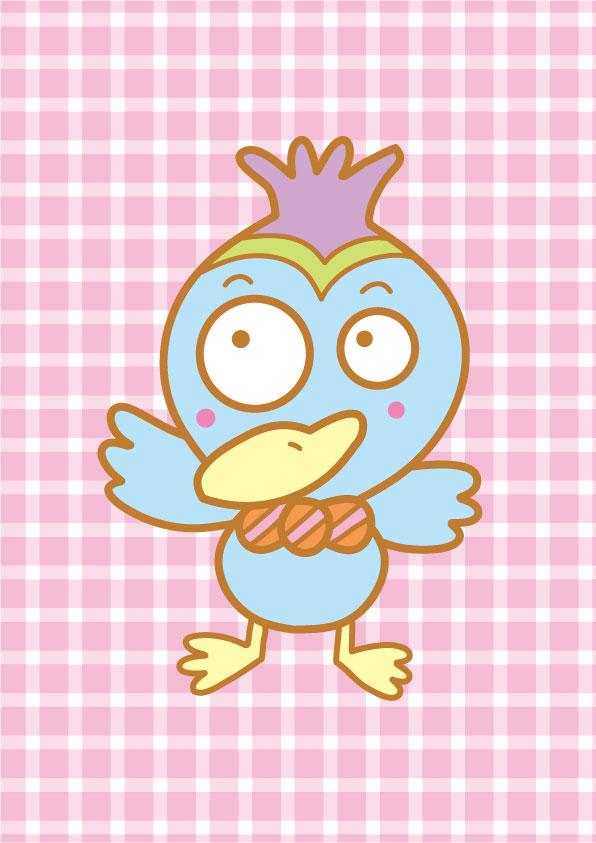 鳥のキャラクター(コミカル)