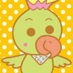 鳥のキャラクター(オウム)
