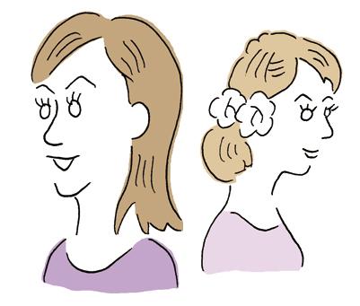 女性誌挿絵